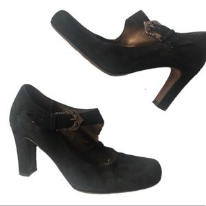 Donald J. Pliner couture black Mary Janes size 8.5
